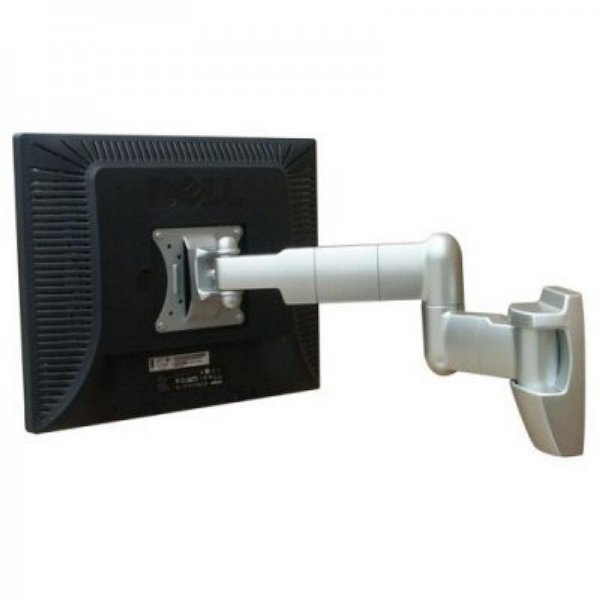 Lcd Wall Mount With 2 Articulating Arms & Cable Management - By Haropa - Hp403-s