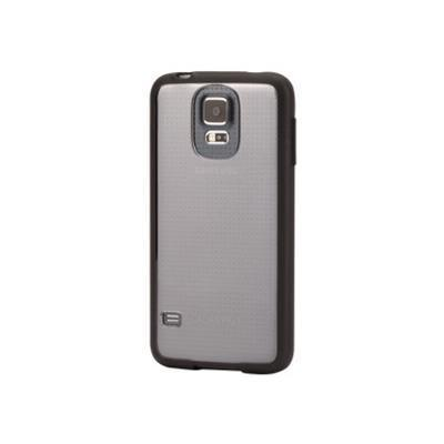 Griffin Gb39050 Reveal Ultra-thin Hard-shell - Back Cover For Cell Phone - Polycarbonate  Rubber - Black  Clear - For Samsung Galaxy S5