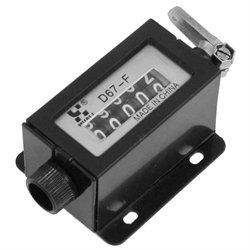 D67-F Black Plastic Shell 5 Digits Mechanical Pull Counter