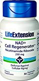 Life Extension NAD  Cell Regenerator 250 mg, 30 Vegetarian Capsules