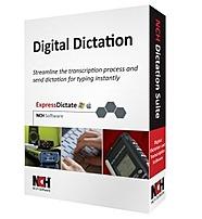 Nch Ret-dic001 Dictation Transcription Suite Digital Dictation Transcription Management For Pc, Mac - Voice Recognition