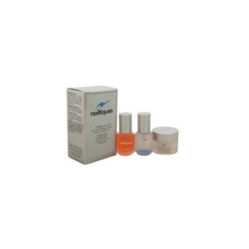 Nailtiques Formula # 2 Kit 7Ml Nail Protein Formula # 2, 7G Cuticle & Skin Gel, 7Ml Oz Oil Therapy For Unisex 3 Pc Kit