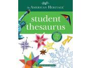 The American Heritage Student Thesaurus Updated Binding: Hardcover Publisher: Houghton Mifflin Harcourt Publish Date: 2015/07/14 Synopsis: Presents alphabetically arranged entries containing synonyms, definitions, and parts of speech, with example sentences for each synonym to distinguish shades of meaning