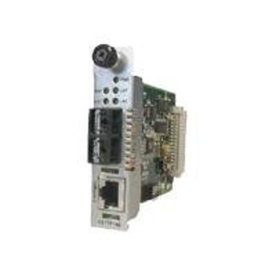 Transition Cettf1013-105 Point System Slide-in-module Media Converter - Fiber Media Converter - 10base-t  10base-fl - Rj-45 / Sc Multi-mode - Up To 1.2 Miles -