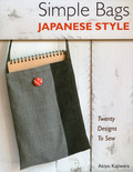 22 stylish bag designs in a simple Japanese-inspired styleProjects include a laptop bag, pocketbooks, knitting and sewing organizers, a thermos cover, a bread bag, a paintbrush case, and a variety of purses and shoulder bagsIncludes patterns and complete step-by-step instructionsComposed mostly out of simple rectangles and squares, the bags are easy to make and have a clean, modern look