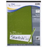 Mead Académie Sketchbook / Sketch Pad, 50 Sheets, 9 x 12 Inch Sheet Size (54012)