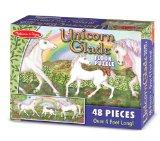 Melissa & Doug Unicorn Glade Floor Puzzle, 48 Pieces