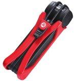 Trelock Chain lock FS 300 folding Lock Trigo red