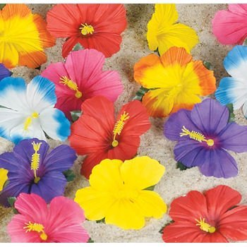 Tropical Flowers for Tabletop Decoration (24)