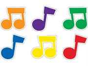 Music Notes Designer Cut-outs