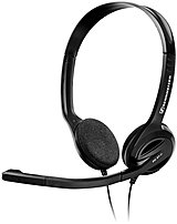 Sennheiser 504522 Pc 31-ii Binaural Headset With Microphone - Stereo - Over-the-head - Black