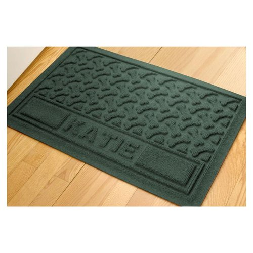 Waterhog Personalized Paws and Bones Dog Mat