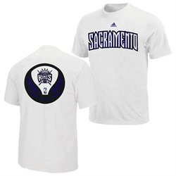 Sacramento Kings Adidas NBA Iconic T-Shirt L