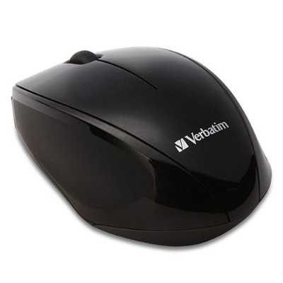 Verbatim 97992 Wireless Notebook Multi-trac Blue Led Mouse - Black