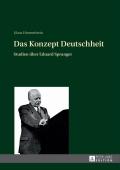Die zehn Studien des Buches über den Philosophen und Pädagogen Eduard Spranger (1882-1963) vermitteln das politische Porträt eines konservativen Intellektuellen