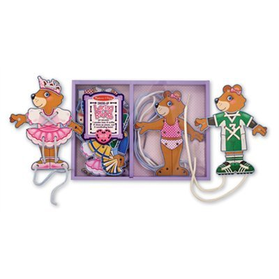 Lacing Bear Dress-Up by Melissa & Doug