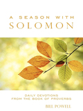 Encouraging a daily encounter with God in the Book of Proverbs, A Season with Solomon undertakes a determined pursuit of Christ's rich wisdom--contrasting the Lord's enduringly wise ways with our own problematic tendencies, In striking contrast to the typical approach of accumulating mere head knowledge, Jesus undertakes our education for God