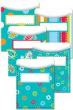 Creative Teaching Press Dots on Turquoise Library Pockets (6920)