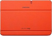 "Samsung Efc-1g2noecxar Carrying Case (book Fold) For 10.1"" Tablet - Orange - Scratch Resistant, Bump Resistant"