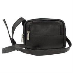 Piel Personalized Leather Traveler's Camera Bag