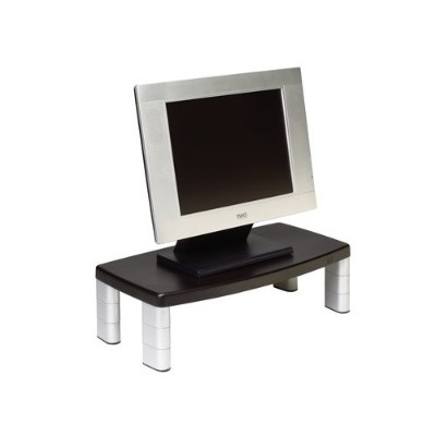 3m Ms90b Monitor Stand Black 20 In X 12 In X 5.8 In