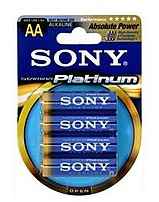 Sony Stamina Am3ptb4a Platinum Alkaline Aa Size General Purpose Battery - Alkaline - 1.5v Dc - 4-pack
