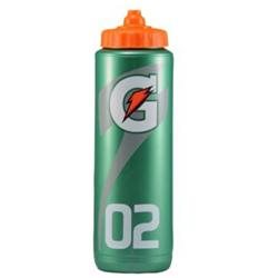 Gatorade 32 Ounce Plastic Sports Water Squeeze Bottle (6 ct)