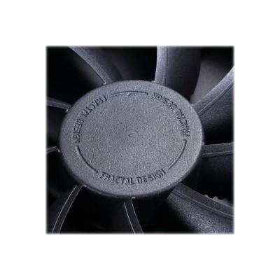 Metacreations Fd-fan-vent-hf12-bk Venturi Series - Case Fan - 120 Mm - Black