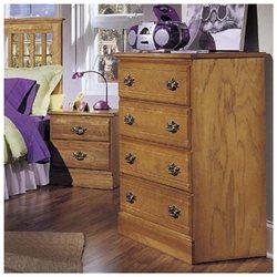 Carolina Oak Collection 4-Drawer Chest