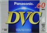 Panasonic AY-DVM60EJ 60 Minutes Mini DV Video Tape Cassette 2 Pack [Electronics]