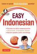 This practical and concise self–study guide will help you learn Indonesian in a very short time Indonesia is the hot new Asian destination, a country where lively conversation, good humor and warm human interaction are integral parts of daily life
