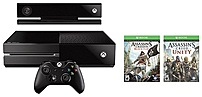 Microsoft 6rz-00075 500 Gb Xbox One Assassin's Creed Unity Bundle With Kinect