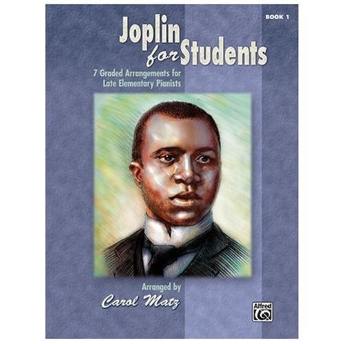 Alfred 00-35311 Joplin for Students- Book 1 - Music Book