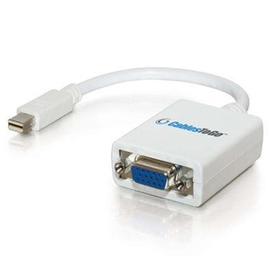 Mac-Compatible Mini DisplayPort 1.1 to VGA Adapter Cable - VGA adapter - 9 in