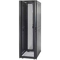 "APC NetShelter SX Rack Cabinet   19"" 42U Wide Floor Standing   Black   1365.31 kg x Maximum Weight Capacity   2250 lb x Dynamic Rolling Weight Capacity   3000 lb x Static Stationary Weight Capacity"