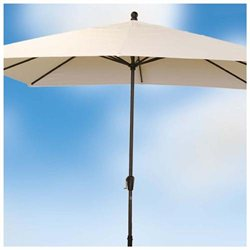 8.5' x 10.5' x 8' Rib Rectangular Premier Market Umbrella