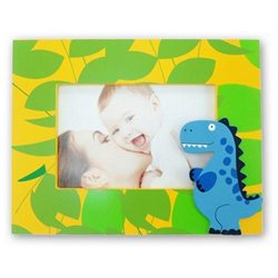 Puzzled 9508 Fun Frames - Blue Dino Frame 4 in. x 6 in.