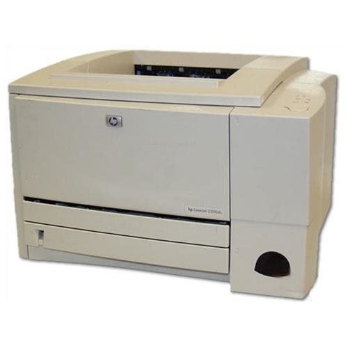 HP Laserjet 2200dn Monochrome Laser Printer - Duplexer - Network