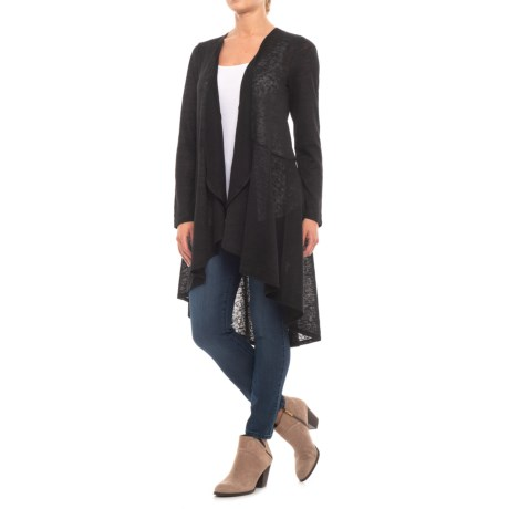 Long Line Cardigan Sweater (for Women)