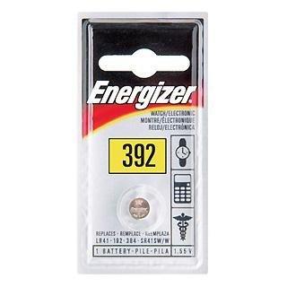 Energizer 392BPZ Zero Mercury Battery - 1 Pack