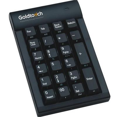 Goldtech Technology Gtc-0077 Numeric Keypad - Usb - Black