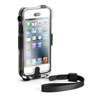 Griffin Gb35562 Survivor   Catalyst - Marine Case For Cell Phone - Nylon  Silicone  Polycarbonate  Pet  Tpe - Black  Clear - For Apple Iphone 5