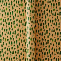 Kraft Green Woodgrain Trees Wrap By Indigo