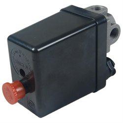 ON/OFF 175 PSI 12 Bar 4 Port Air Compressor Pressure Switch Valve AC 240V 20A