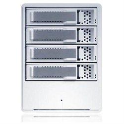 Sans Digital MobileRAID MR4UT DAS Array - Serial ATA/300 Controller - 4 x Total Bays - USB 2.0, eSATA External