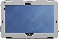 The Dell 460 BBNB Venue 11 Pro Healthcare Tablet case is designed with non porous medical grade material that is sanitizable and splash proof for protection in any medical situation