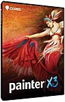 Corel Painter X3 - Version Upgrade Package - 1 User - Image Collection/management - Standard - Pc, Mac, Intel-based Mac - English Ptrx3enpcmugam