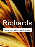 Ivor Armstrong Richards was one of the founders of modern literary criticism