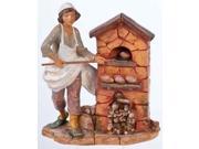 "Fontanini 12"" Darius the Baker Religious Nativity Figure #52908 Brand: Roman Size/Dimensions: 2"" Type: Nativity Pieces"