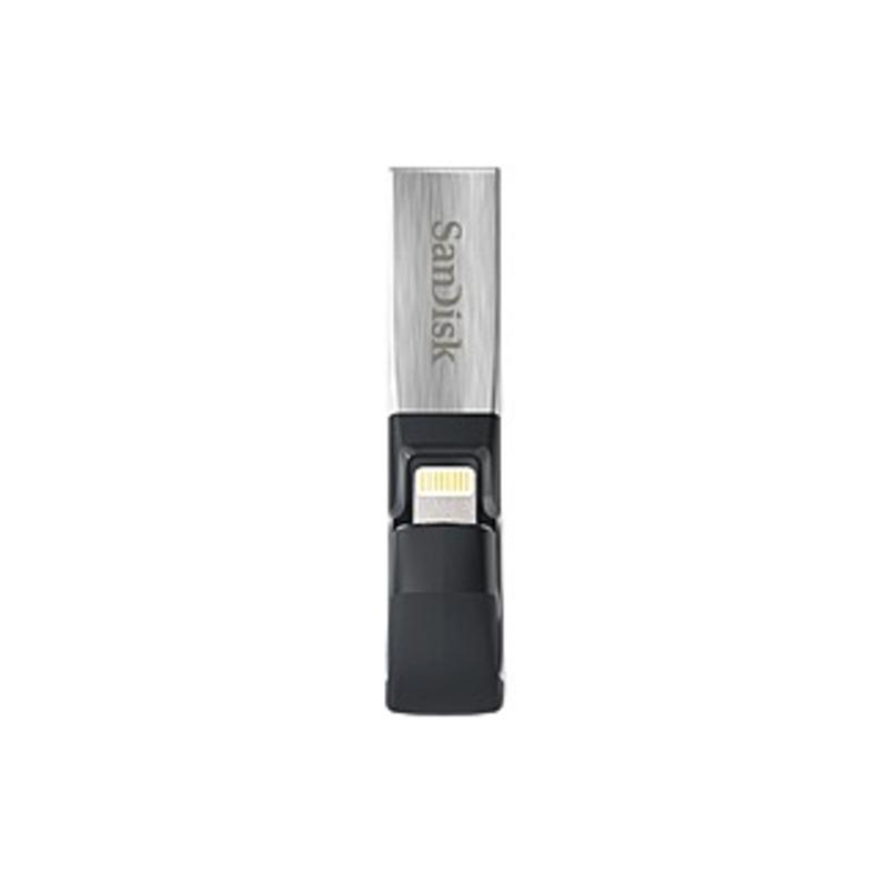 Sandisk 32gb Ixpand Lightning Usb 3.0 Flash Drive - 32 Gb - Lightning, Usb 3.0